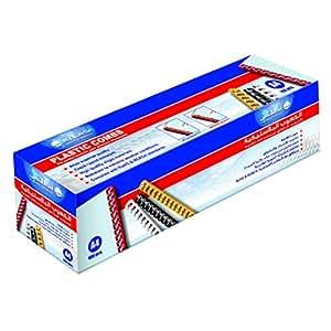 Atlas Bind Comb A4 14mm Box-100 Pieces, Black