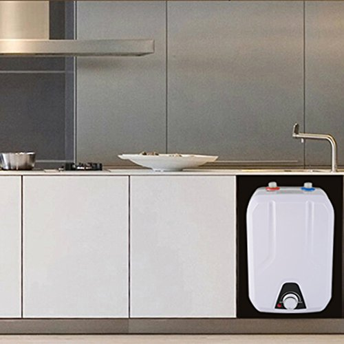 zinnor 8L Instant Electric Water Heater Kitchen Household Electrical Hot Water Tank for Bathing Washingroom Shower 1500W/1.5KW 50HZ, IPX4 Water-Proof Level 110V 55℃- 75℃ USA Shipping by Zinnor (Image #5)