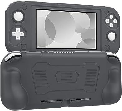 MoKo Funda Compatible con Nintendo Switch Lite, Cubierta Protectora de Silicona con Mango Rellenos Integrados de Diseño Ergonómico Durable Cómodo para Nintendo Switch Lite 2019: Amazon.es: Electrónica