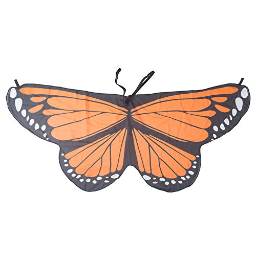 Tebery Kids Monarch Butterfly Wings (Orange) -