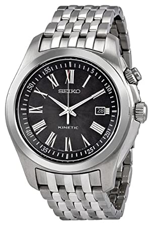 Seiko Men S Ska469p1 Black Dial Watch