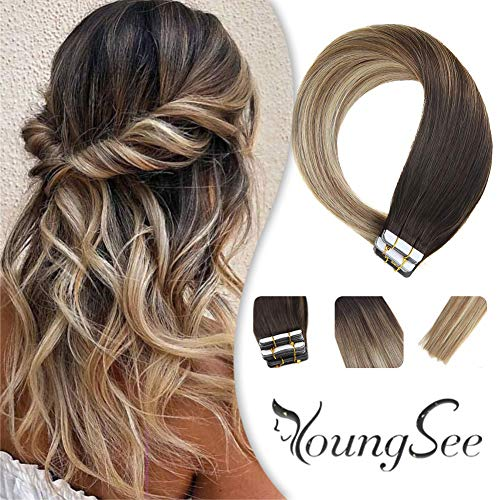 Youngsee Extensions Balayage Darkest Seamless