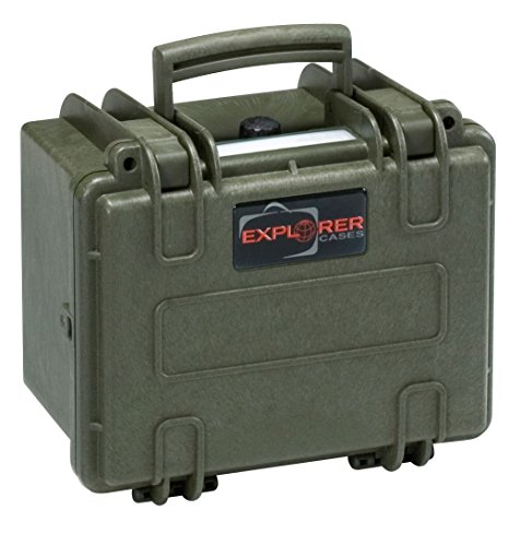 Explorer Cases 2214 GE Waterproof Dustproof Multi-Purpose Protective Case Empty, Military Green by Explorer Cases