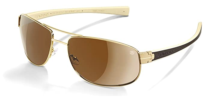 cfebf324ba69f Image Unavailable. Image not available for. Colour  Tag Heuer Lrs 0251  Sunglasses 705 Gold Brown Ivory Outdoor ...
