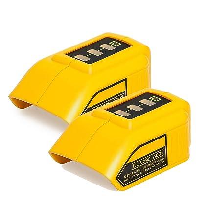 Amazon.com: Cargador de batería de 10,8 V y 14,4 V y 20 V ...
