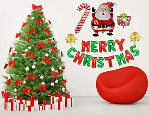 Large Santa Claus Aluminum Foil Balloon Christmas Party Decoration Merry XmasOIZ
