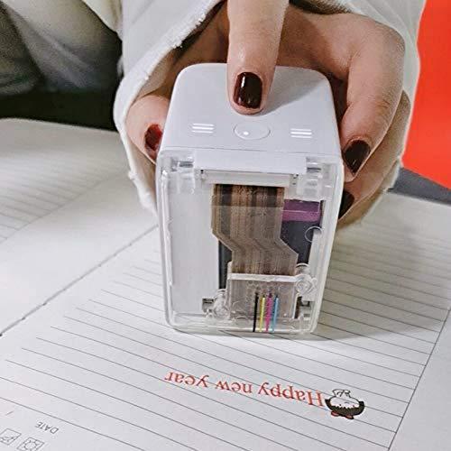 Portable Hand held Printer Removable Handheld Color Printer WiFi Wireless Bluetooth Portable Printer Full Color