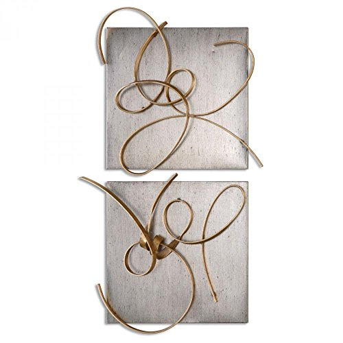 Uttermost Harmony Metal Wall Art, S/2 Model-07071 (Accents Home Uttermost 2)
