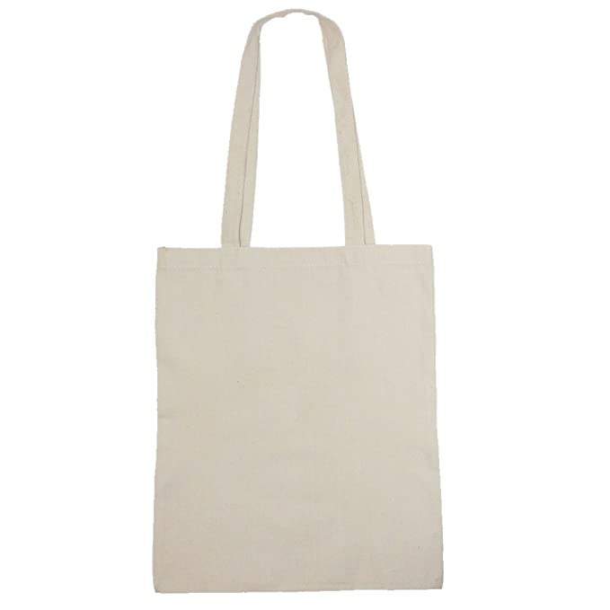 Bolsa de tela para libros al hombro 34cm x 41cm, Carga Hasta 10 Kg