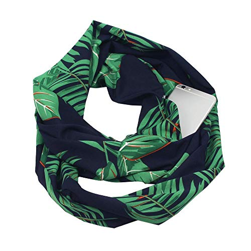 Winter Women Floral Print Convertible Infinity Scarf, for sale  Delivered anywhere in USA