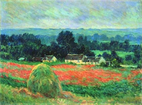 the-high-quality-polyster-canvas-of-oil-painting-claude-monethaystack-at-giverny-1886-size-24x33-inc