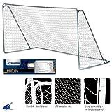 Champro Steel Frame Soccer Goal (Blue/White, 6 x 12-Feet)
