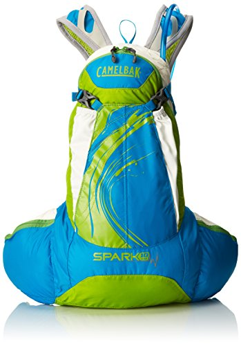 Camelbak Products Women's Spark 10 LR Hydration Pack, Blue Jewel/Chartreuse, 70-Ounce