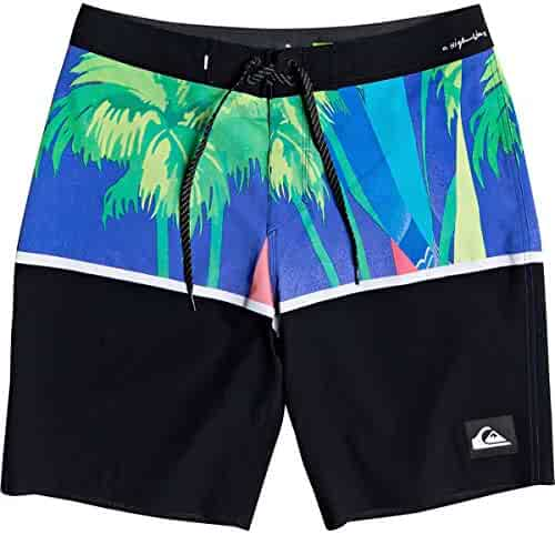 MIPU SHANGMAO Mens Caring for Autism Summer Beach Shorts Leisure Quick Dry Swimming Pants