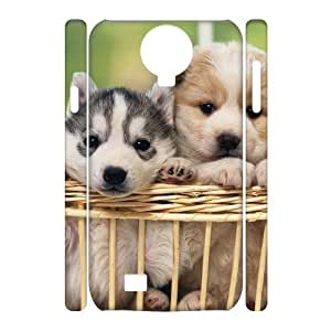 Hotsale Case for SamSung Galaxy S4 I9500 3D - Cute dog ( WKK-R-79916 )