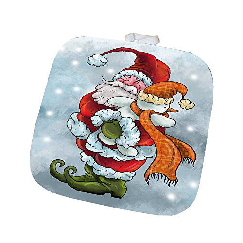 Merry Christmas Happy Holiday Pot Holder D413