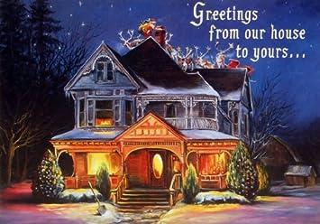 Leanin Tree Christmas Cards.Amazon Com Christmas Card By Leanin Tree 7485 Artist
