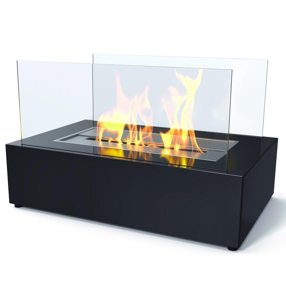imagin bio ethanol fireplace eton black amazon co uk diy u0026 tools