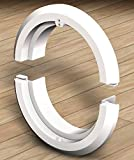 PoolPal USA Swimming pool light repair adapter ring - white
