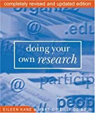 Doing Your Own Research, Robin Buss and Eileen Kane, 0714530433