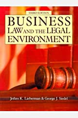 Business Law and the Legal Environment (The Dryden Business Law Series) by Jethro Koller Lieberman (1992-01-03) Hardcover
