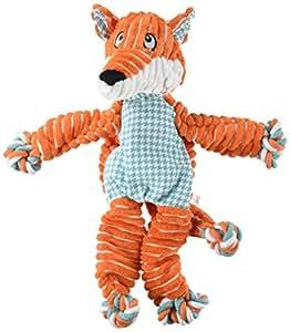 Amazon.com: KONG Floppy Knots Fox, Dog Toy, Medium/Large