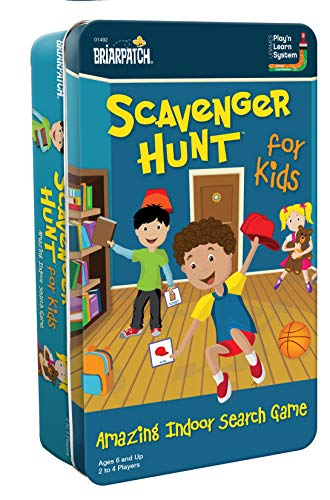 Scavenger Hunt for Kids Tin (Best Scavenger Hunt Items)