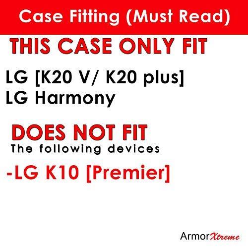 LG [K20 V/ K20 plus/ Harmony] Phone Case [ArmorXtreme] [Clear] Designer Image [Flexi Gel TPU] [Screen Protector]- [Navy Flag] for LG [K20 V/ K20 plus] LG Harmony free shipping
