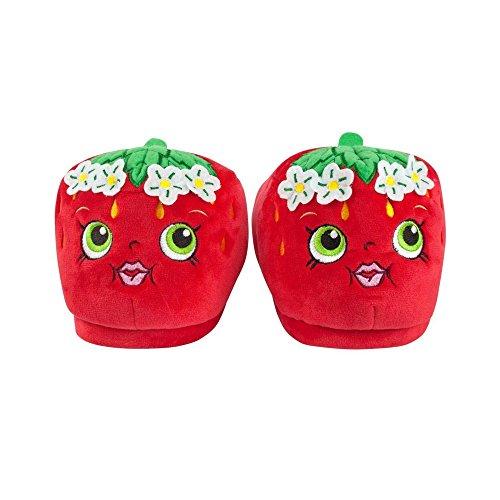 Shopkins Mädchen Strawberry Kiss 3D Hausschuhe Rot