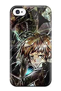 Fashion Tpu Case For Iphone 4/4s- Psycho-pass?wallpaper Defender Case Cover