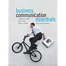 Business Communication Essentials, Third Canadian Edition Plus NEW MyLab Canadian Business Communication with Pearson eText -- Access Card Package (3rd Edition)