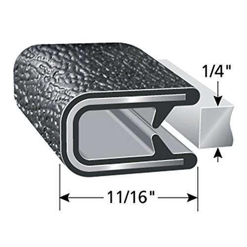 Trim-Lok Edge Trim – Flexible, PVC Plastic Edge Protector for Sharp