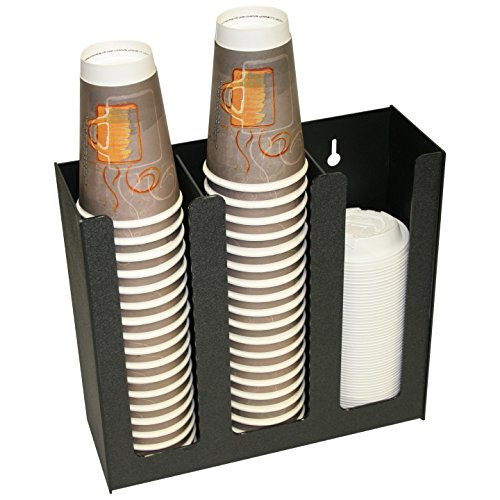 Coffee Cups or Lid Holder, 3 Columns 12