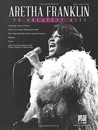 Aretha Franklin - 20 Greatest Hits (Music Rhythm Sheet)
