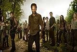the walking dead season 5 poster - The Walking Dead Season 4 3 2 1 Nice Silk Fabric Cloth Wall Poster Print (20x13inch)