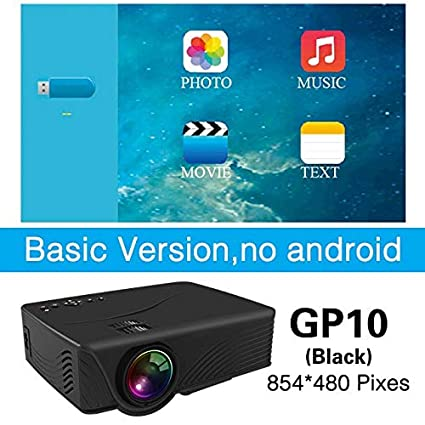 Amazon.com: LCD Projectors - LED GP10 Mini Projector for ...