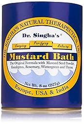 Dr. Singha\'s, Mustard Bath, 8 Ounce