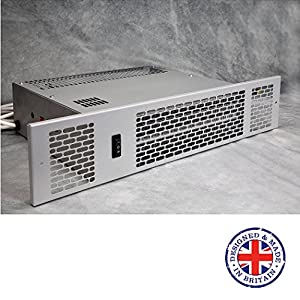 KPH-1500Classic – Kitchen Plinth heater – Central Heating – Hydronic – 1.5kW (Silver)