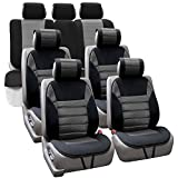 FH GROUP FH-FB201217 Polyester Car Seat Cushion Pads Thre...