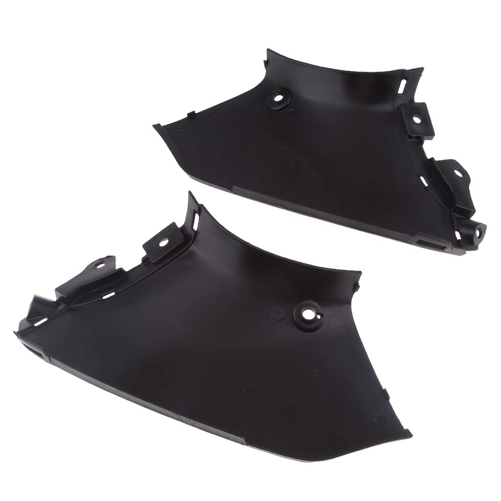 Flameer 2 Pieces Black Left /& Right Side Air Duct Cover Fairing Suzuki Hayabusa 08-12