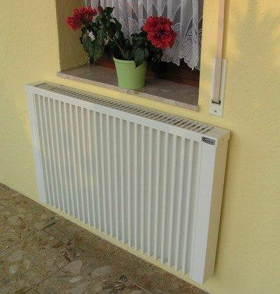 Sistema de calefacción por acumuladores con termostato inalámbrico, 2450 W, con núcleo acumulador de chamota: Amazon.es: Bricolaje y herramientas
