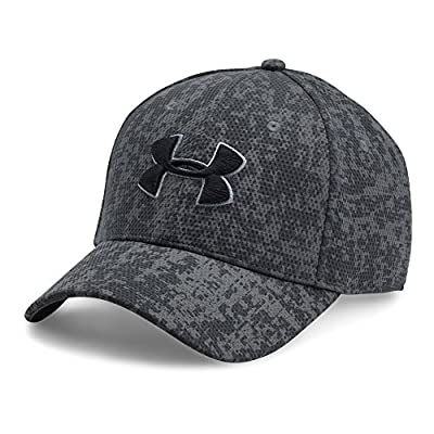 Under Armour Men's Printed Blitzing Stretch Fit Cap by Under Armour Accessories