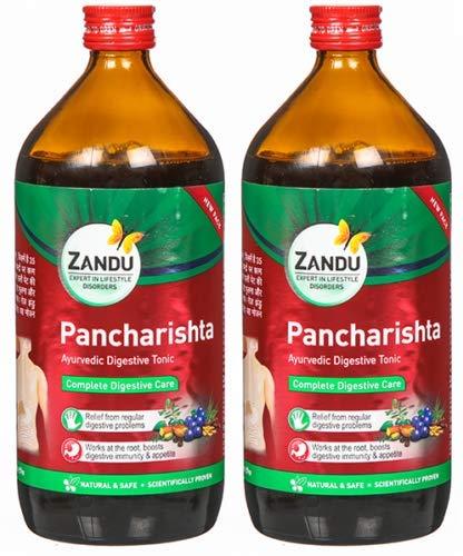 Finaldeals Pack of 2 Zandu Pancharishta Ayurvedic Digestive Tonic Zandu Ayurveda 450 ml