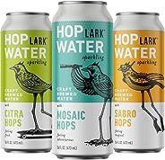 HOPLARK Water - Mixed Pack (12, 16oz. Cans) - Sparkling Hop Water - Organic, Gluten Free, Vegan, Zero Sugar, Z