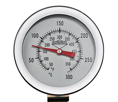 Küchenprofi 1065082800Termometro per frittura, Acciaio Inossidabile, Colore Argento, 5,6x 5,8x 26,6cm 2