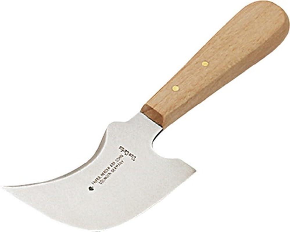 Piombo coltello lama 100 mm quarto di luna