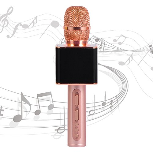 Sale!! SU.YOSD Original Professional Microphone Karaoke, Portable Handheld Cellphone Karaoke Player ...