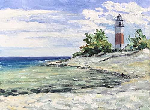 (Lighthouse, Middle Island )