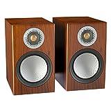 Monitor Audio Silver 50W Bocinas de Repisa, Walnut