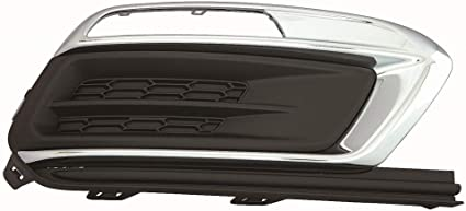 I-Match Auto Parts Passenger Side Fog Light Bezel Replacement for 2013-2016 Chevrolet Malibu GM1039136 615343549200 Black Chrome